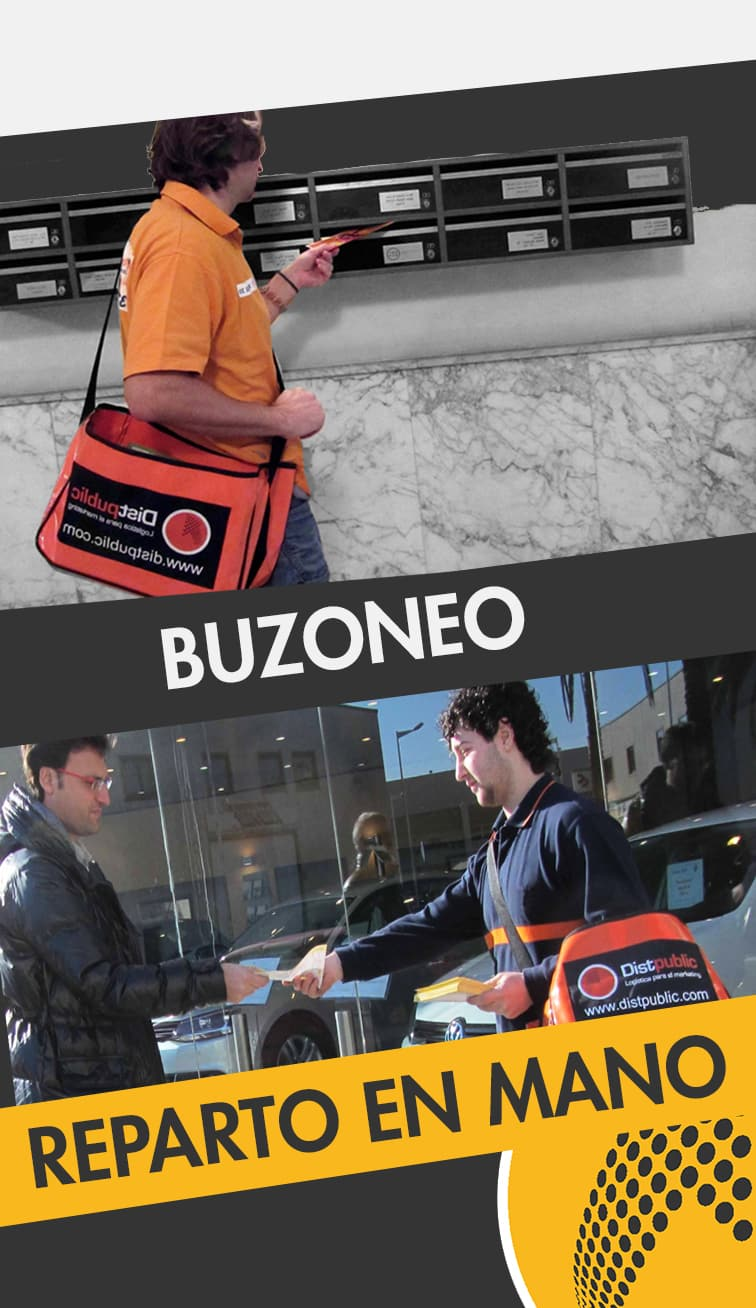 servicios de buzoneo y reparto en mano Zaragoza
