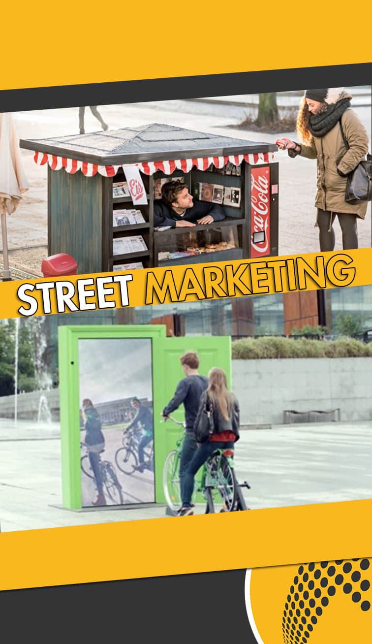 servicios de street marketing Teruel